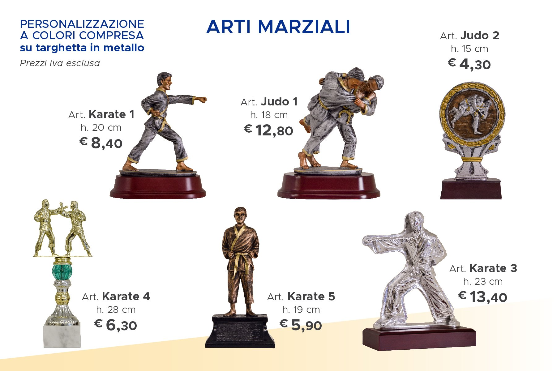 trofei sportivi di karate