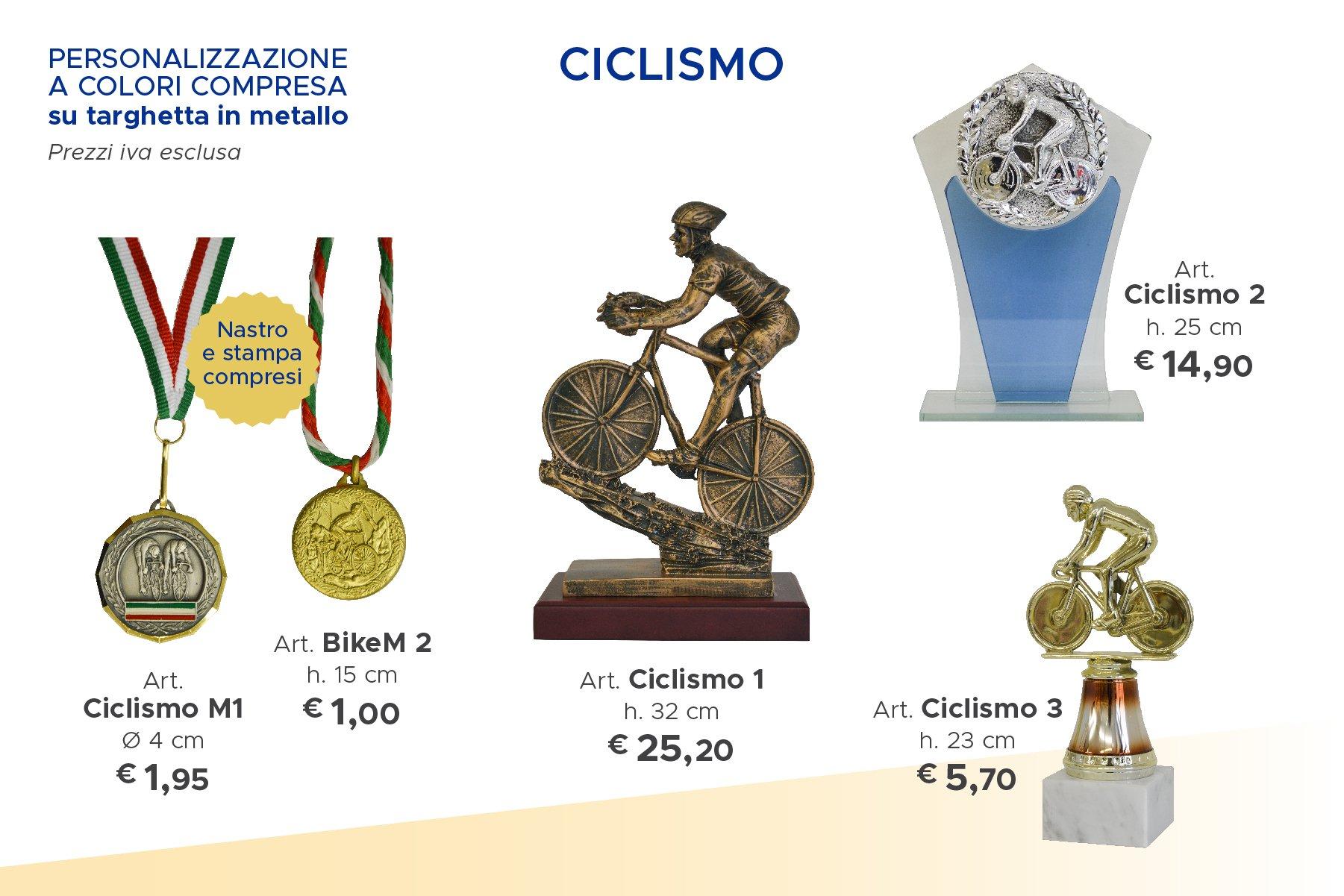 trofei sportivi di ciclismo