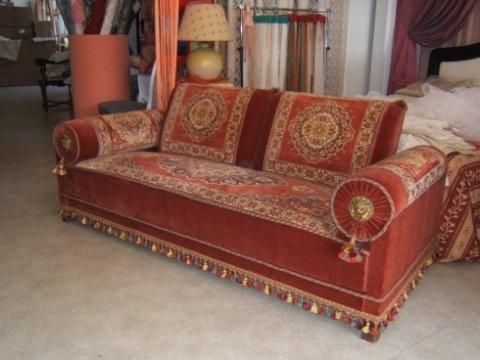 restauro, divano, orvieto