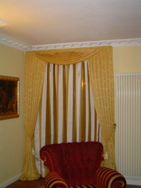 tende, lunghe, decorative