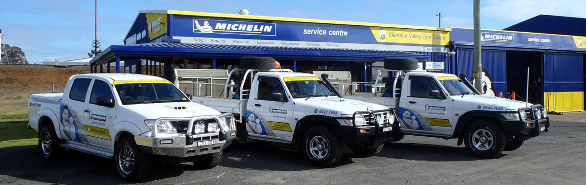 Clarence Valley Tyre Centre fleet
