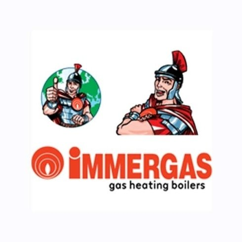 logo Immergas gas heating boilers