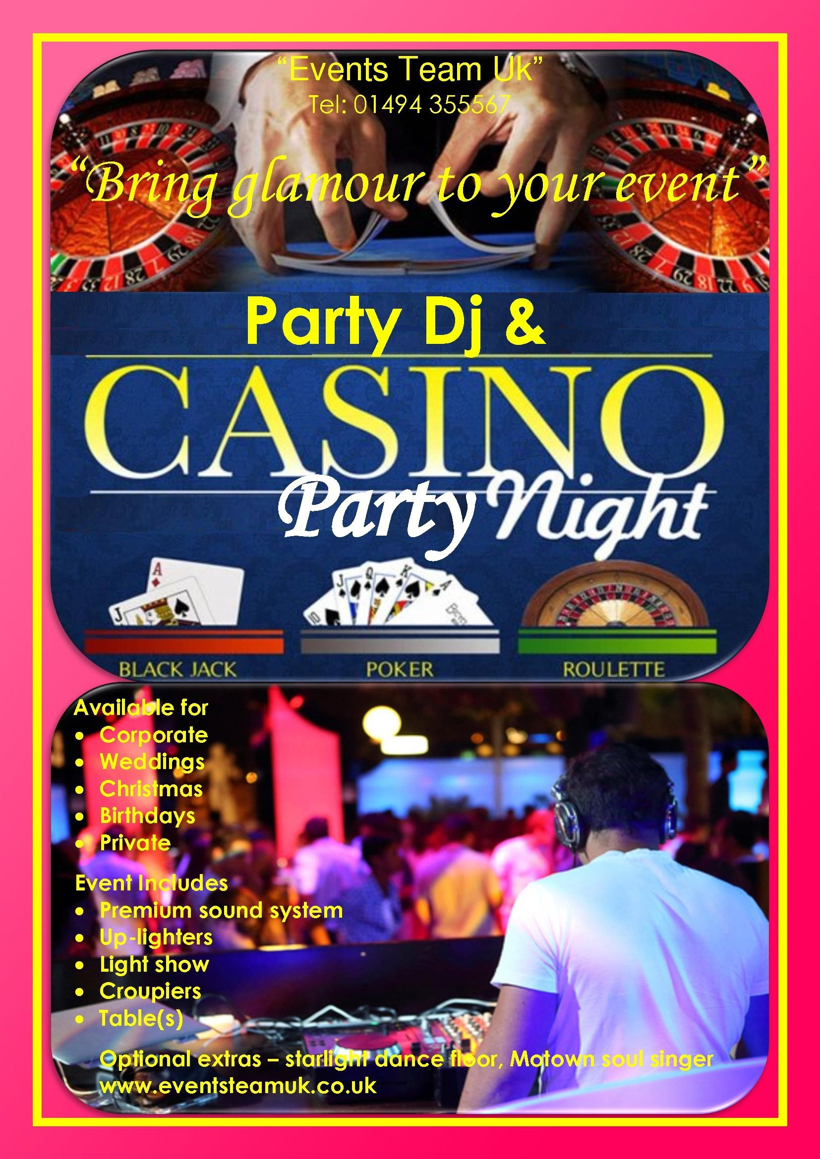 Party fliers