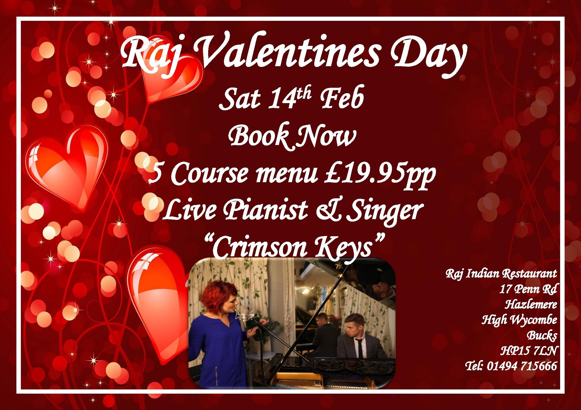 Valentine events 2015