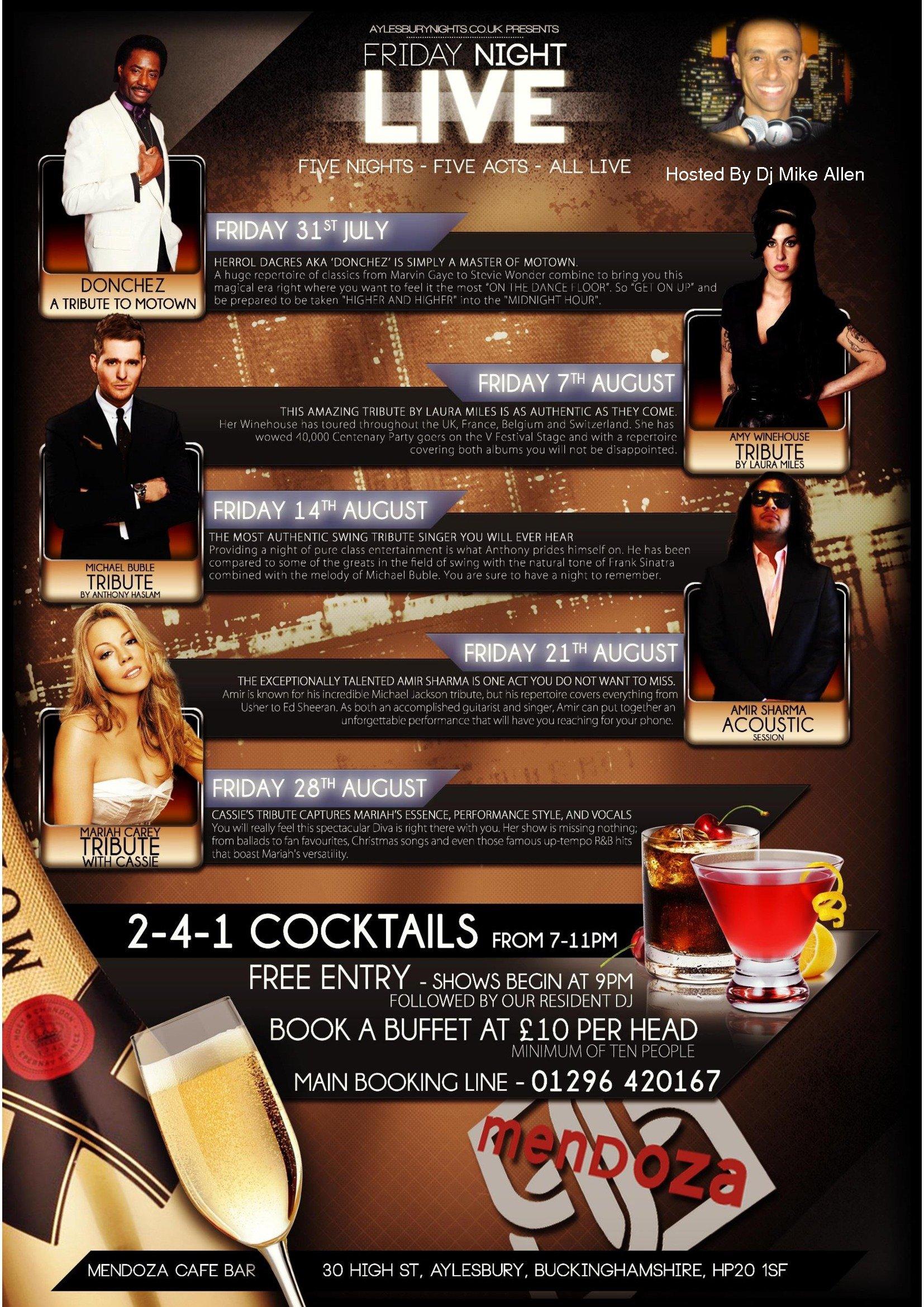2-4-1 cocktails