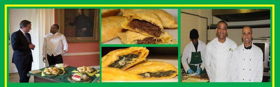 Caribbean food flyer