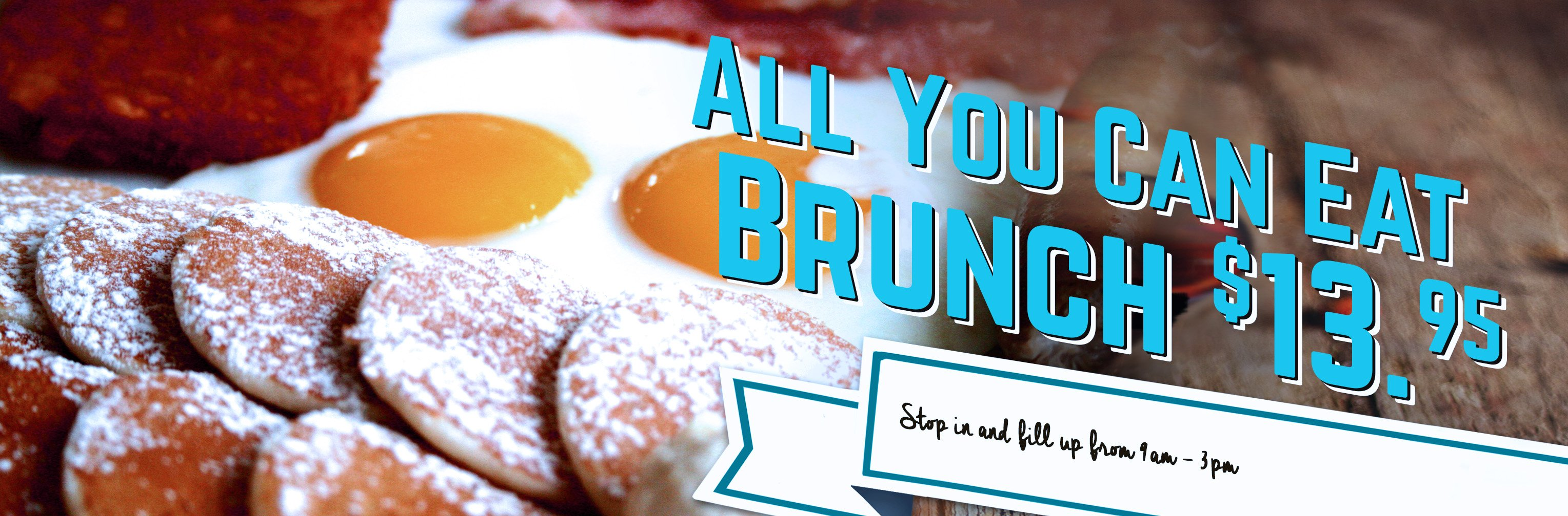 All you can eat brunch at the Fusion Grill Bar & Restaurant in Lyndonville, VT