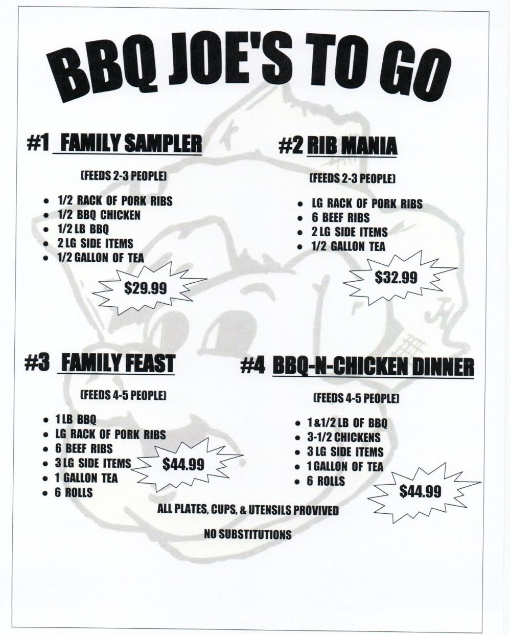 BBQ Joe's To Go