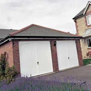 dual garage doors