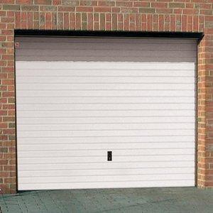 manually operated garage door