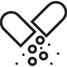 icona pastiglia spezzata