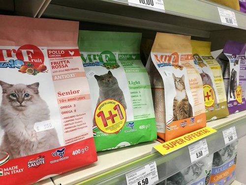 croccantini per gatti