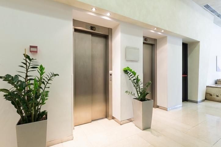 veduta ascensore