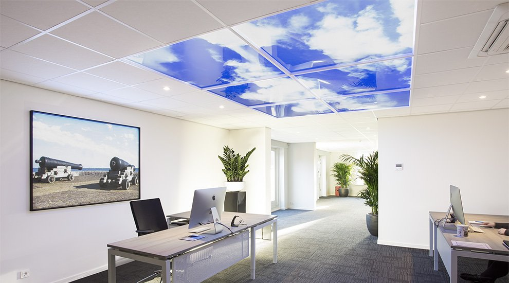 Bring the outdoors inside with Sky panel LED lighting