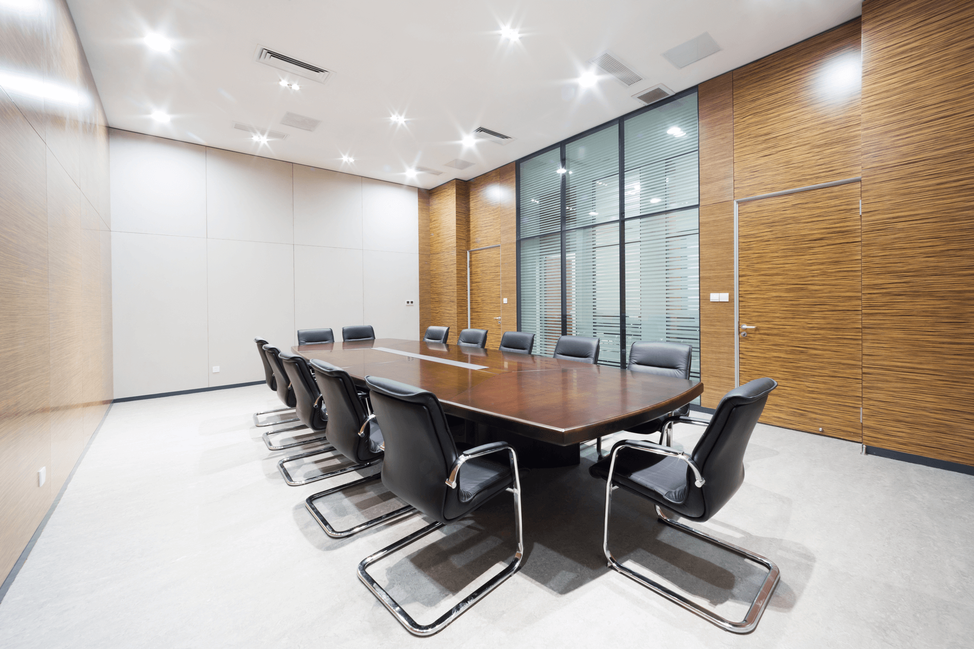 conference room modern chairs elegant