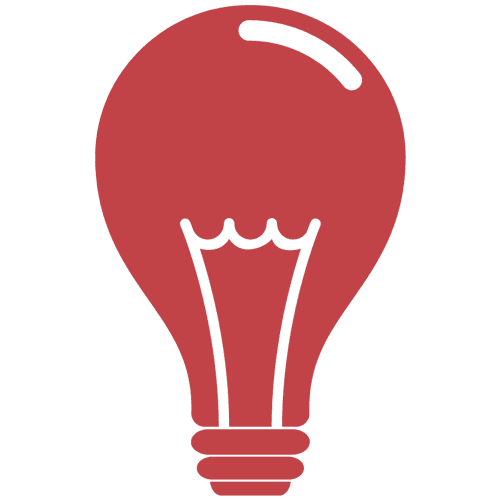 light bulb icon power lighting and data