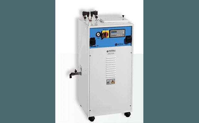 battistella saturno - generatore di vapore con 2 ferri da stiro e vasca manuale