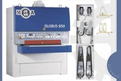 Calibratice levigatrice Globus 950