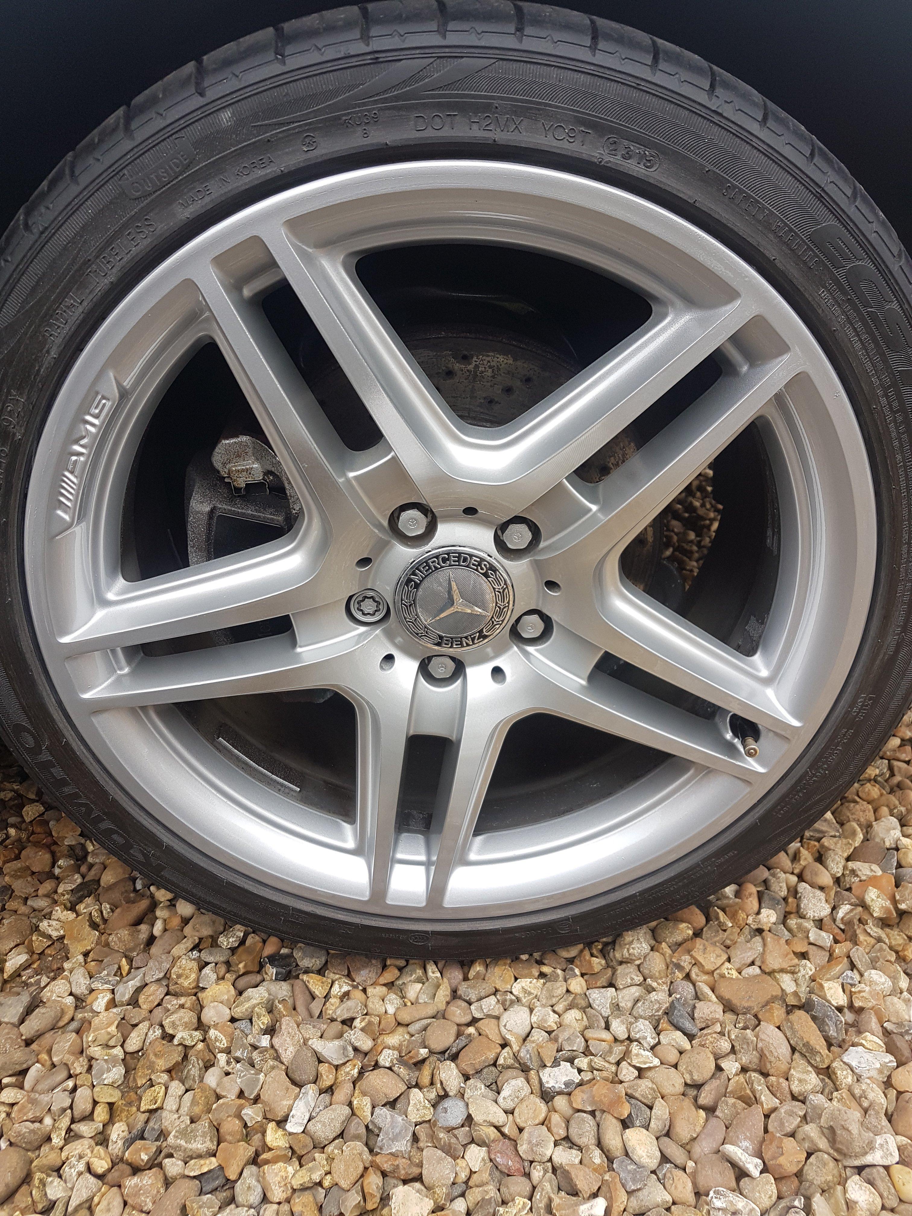 restored wheel
