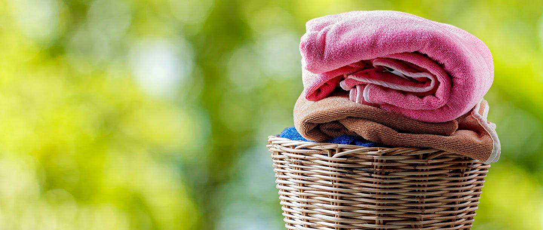 Asciugamani lavati da LAVANDIAMO ROSY  LAVAGGIO SELF