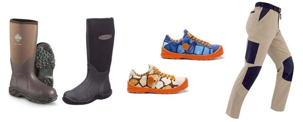 Abbigliamento e calzature da lavoro