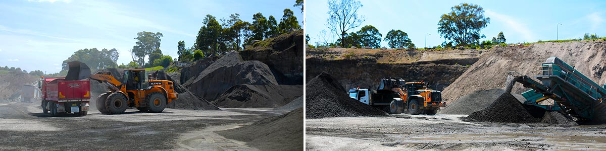 south coast concrete crushing and recycling environmentally friendly construction materials