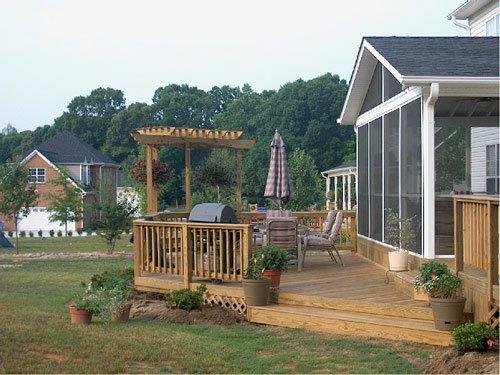 custom decks Winston Salem, NC