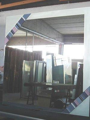 Specchio riflettendo specchi