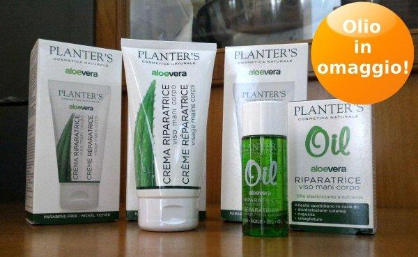 Cosmetici Planter's Aloe Vera - In omaggio olio
