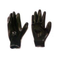 Guanto in nylon nero