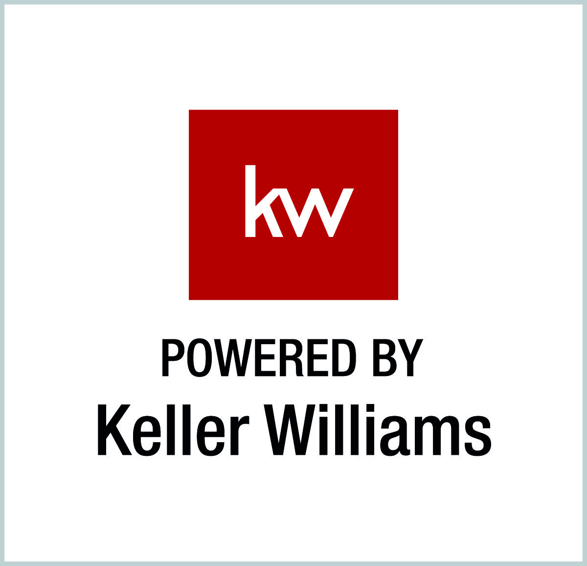 KW powered by Keller Williams logo
