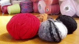 wool, cotton, wool and mohair mixture