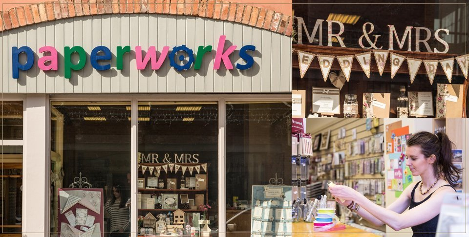 A specialist art and craft shop in Dungannon