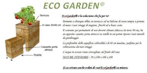EcoGarden - vaso su misura