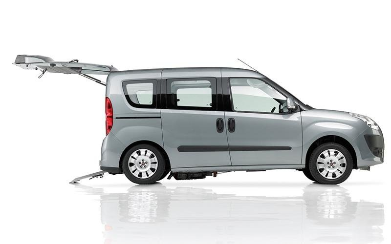 Berlingo with disabled ramp