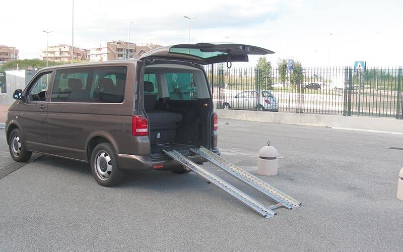 Steel car ramp