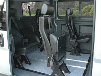 Disabled commercial vehicle seat