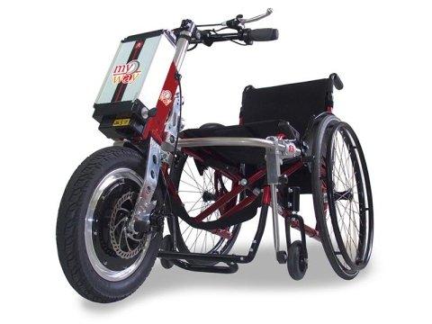 carrozzina motorizzata