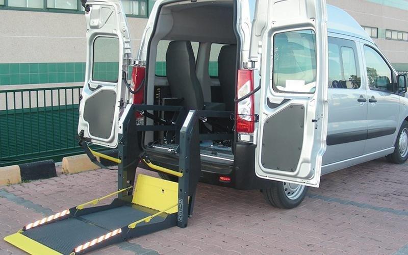 Elevador silla de ruedas