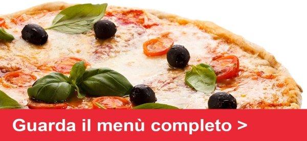 Menù completo pizze da asporto