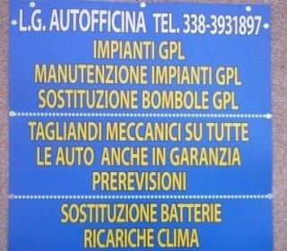 IMPIANTI GPL , AUTOFFICINA