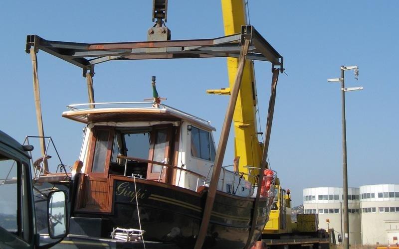 boat storage in Olbia