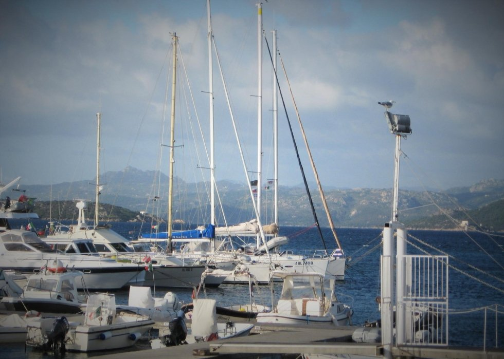PORT VIEW Sardinia