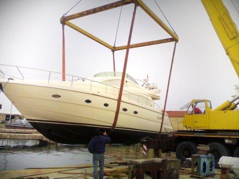 Sardinia boatyard