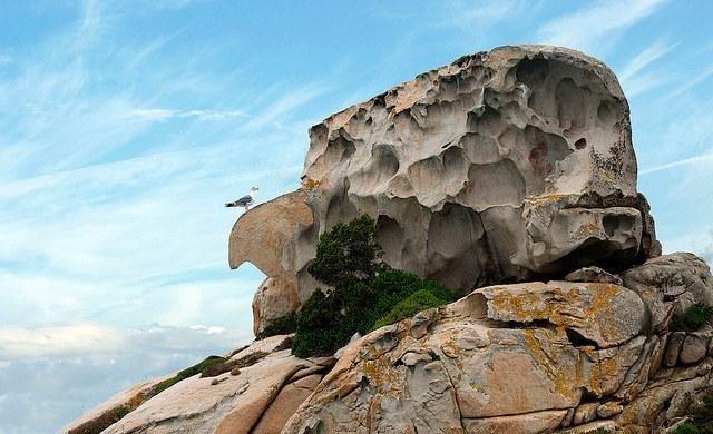 Spargi roccia della strega