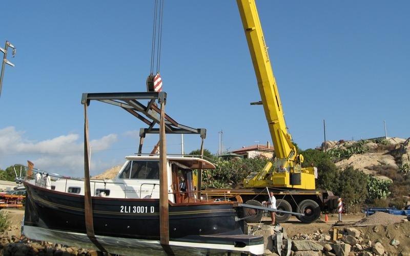 alaggio e varo imbarcazioni