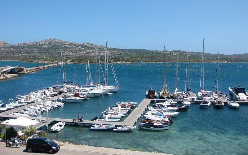 naval ports near Caprera