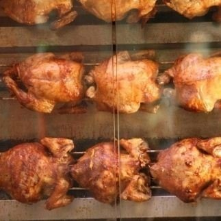 Pollo allo spiedo