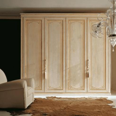 legno laccato, armadi in legno decorato, armadi in legno disegnato