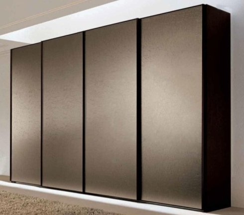 armadio in legno scuro, armadio design, armadi moderni